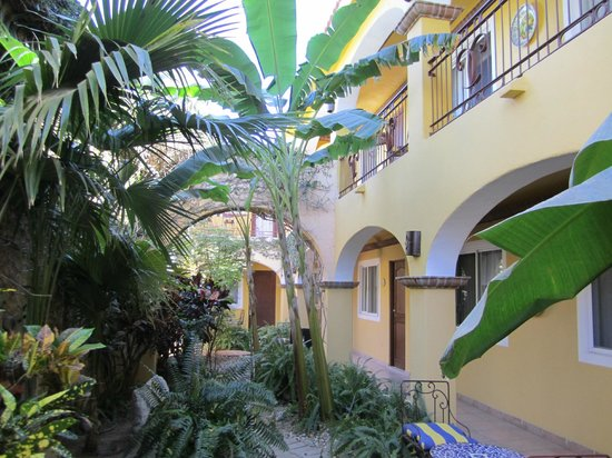 El Encanto Inn & Suites Boutique Hotel:                   rooms in old quarters - across road from reception