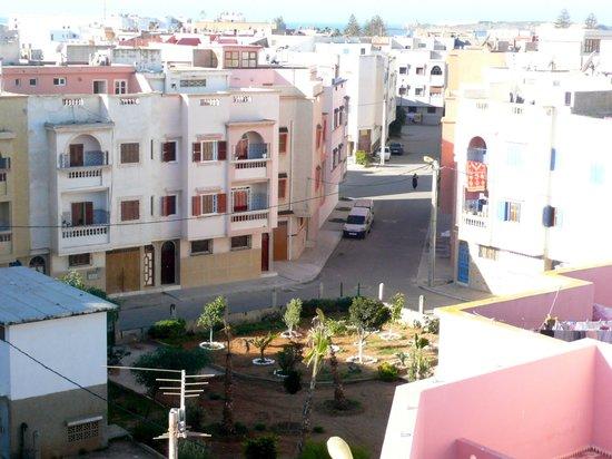 Casa Guapa de Tamuziga:                   Blick in das Viertel