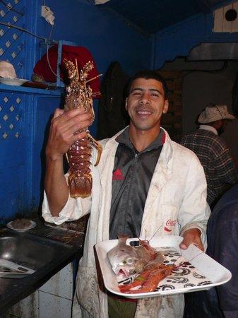 Casa Guapa de Tamuziga:                   Fischrestaurant                 