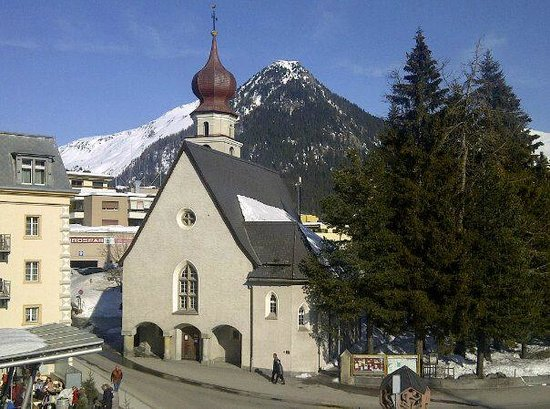 Hotel Seehof Davos: View form our baloney