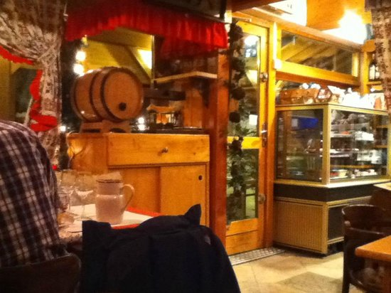 La Belle Savoie:                   Interior photo