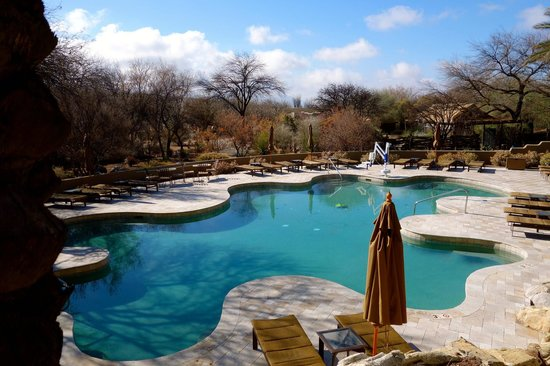 Miraval Arizona Resort & Spa:                   One of the pools