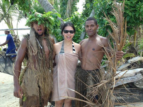 Robinson Crusoe Island Resort:                   the cannibal