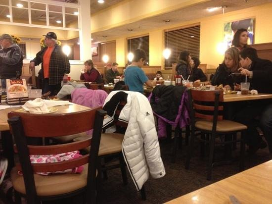 Old Country Buffet: always a popular spot for families and senior citizens