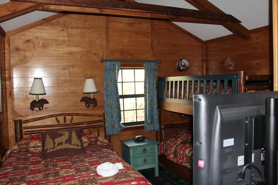 The Campsites at Disney's Fort Wilderness Resort:                   Bedroom