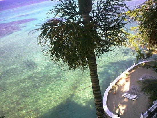 Hibiscus Lodge Hotel:                   Private beach