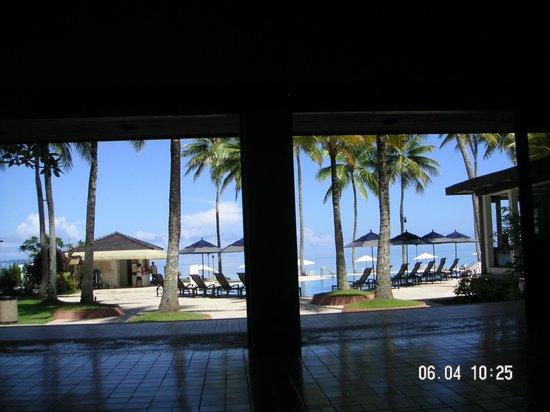 Palau Pacific Resort:                   ホテルからの景色