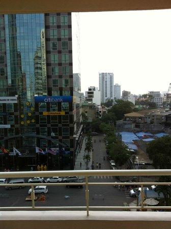 Palace Hotel Saigon: Balcony View (day)