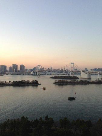 Hilton Tokyo Odaiba:                   View from balcony