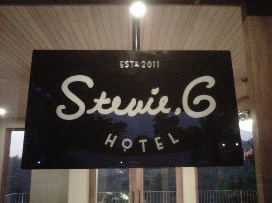 """Stevie G Hotel:                   really """"Stevie G"""""""