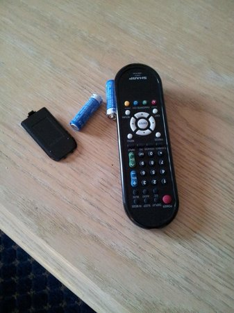 The Chateau Hotel and Conference Center:                   Remote was Unfunctional