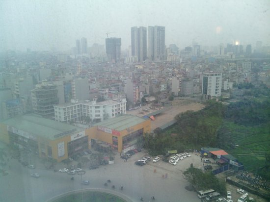 Crowne Plaza West Hanoi:                   city view