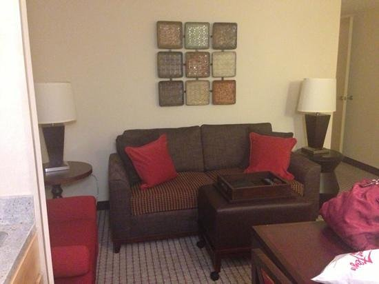 Homewood Suites University City:                   Living Room