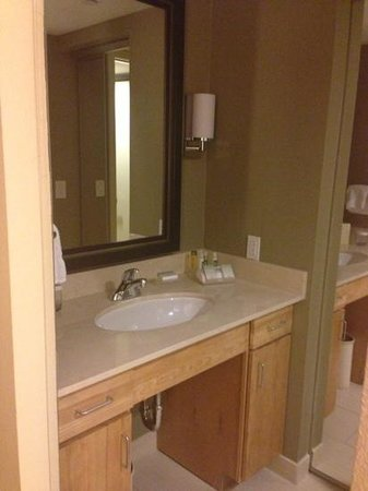 Homewood Suites University City:                   Bathroom