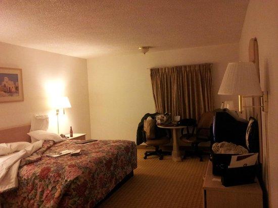 Rodeway Inn & Suites:                   King
