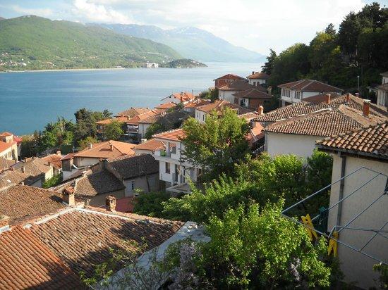 Villa Ohrid : view from balcony