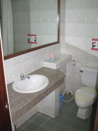 باندا هوتل: bathroom