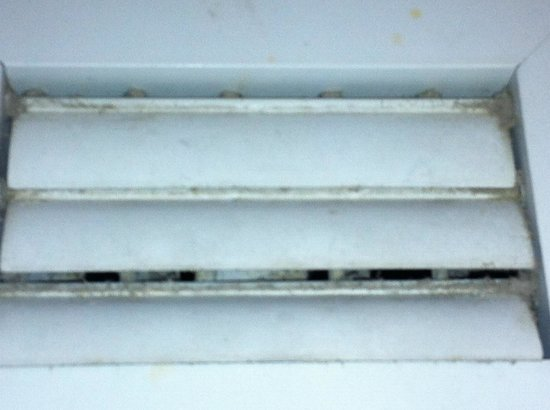 Ramada Plaza Marco Polo Beach Resort:                   This is one of the dirty vents in my room.