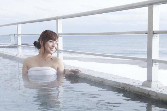 Yunokawa Prince Hotel Nagisatei: Open Air Bath