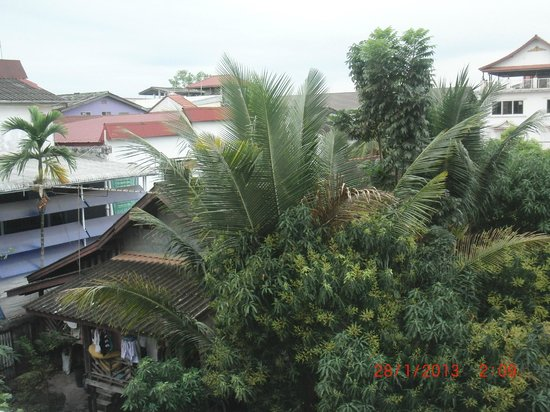 Lao Orchid Hotel: View from room