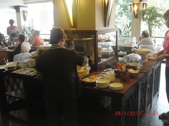Lao Orchid Hotel: Breakfast