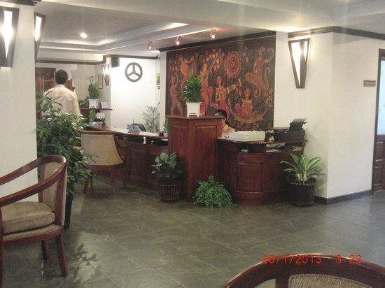 Lao Orchid Hotel: Reception