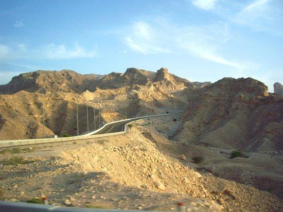 ميركيور جراند جبل حفيت العين: On the way.....