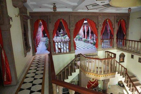 Heritage Kuchaman:                   Interior view