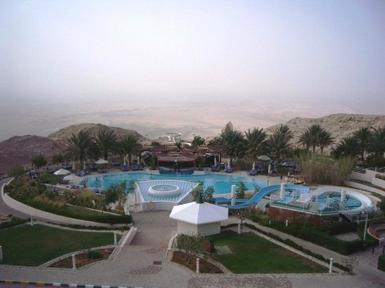 Mercure Grand Jebel Hafeet Al Ain: The view from the window.