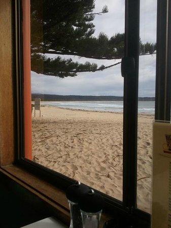 Tathra Beach Tapas:                   Tathra Beach Cafe view