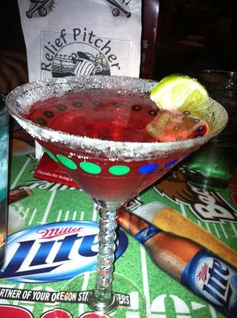 Relief Pitcher Tavern: best cosmo in town