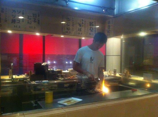 Yakitori Uma:                   I piatti vengono cucinati sulla griglia davanti ai propri occhi