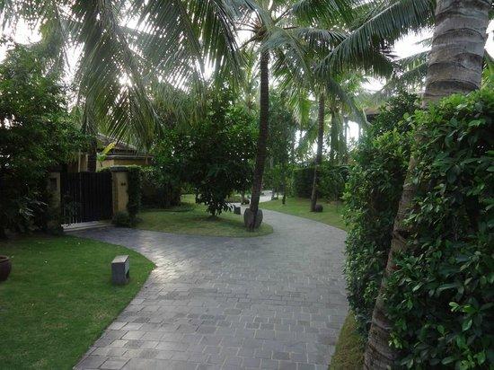 Anantara Mui Ne Resort:                   Hotel grounds