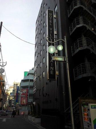 Hotel Villa Fontaine Shinjuku:                   Exterior