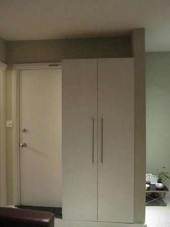 Apartment 17 :                   2nd Floor - bathroom door, only cabinet for clothes