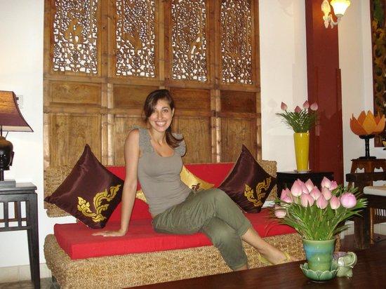Khmer Surin Boutique Guesthouse:                   area comune