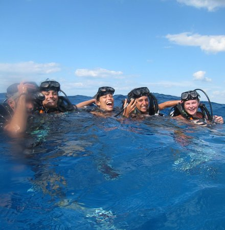 NIrvana Diving School:                   Surface fun!