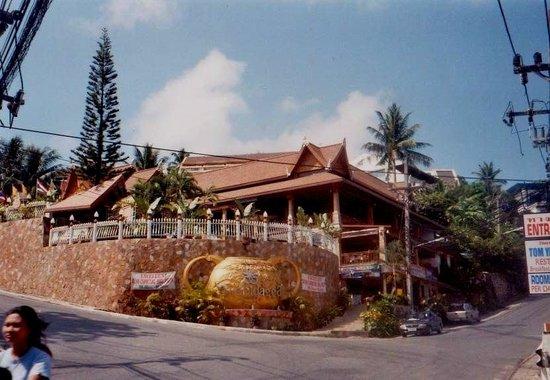 Orchidacea Resort:                   front view