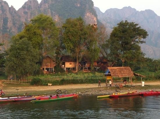 فيلا نام سونج:                   vue de la Verandha                 