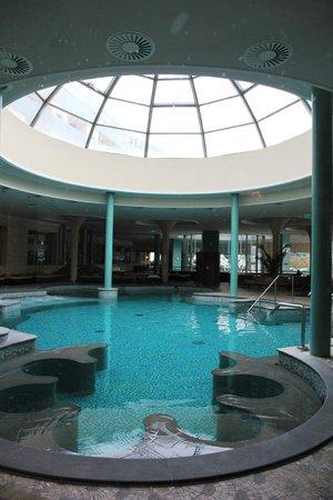 Spirit Hotel Thermal Spa:                   inside pool area