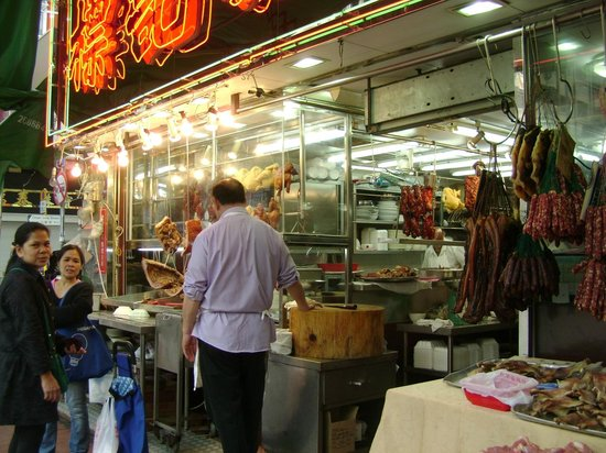 Tsuen Wan : Locals Ordering Takeaways at the Barbecue Meat Eatery