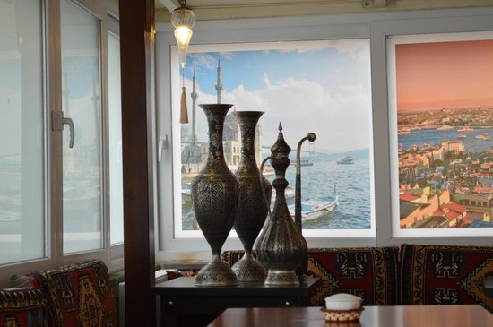 Rose Garden Suites Istanbul :                   Breakfast room