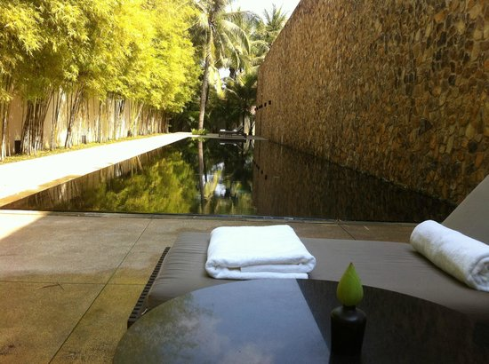 Amansara: lap pool for a bit of exercise