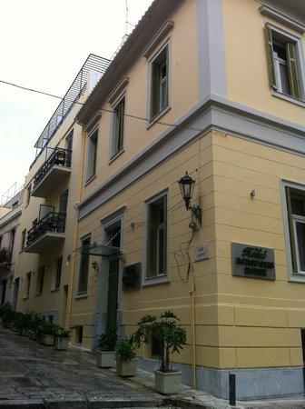 Hotel Acropolis House: external