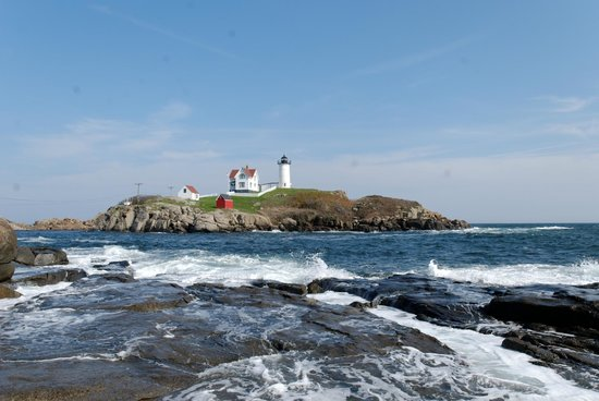 Cape Neddick Nubble Lighthouse:                   Nubble Point