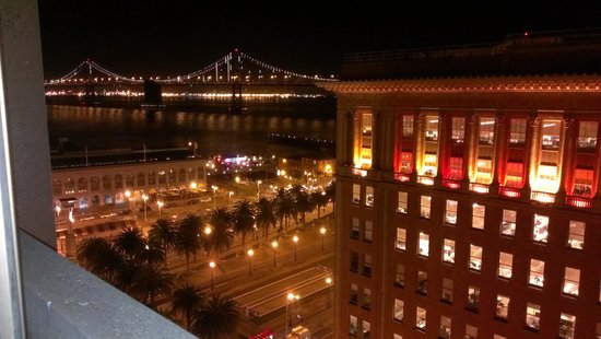 Hyatt Regency San Francisco:                   view from our room on the 11th floor