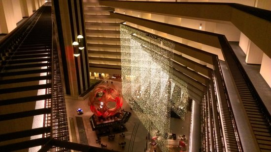 Hyatt Regency San Francisco:                   Atrium view from 11th floor