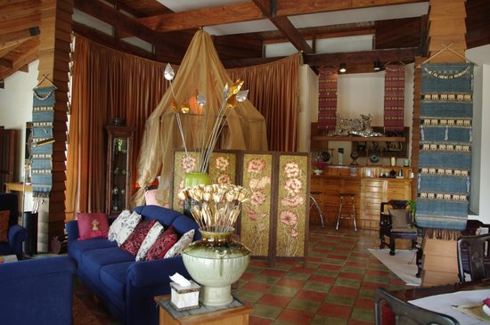 Koh Chang Cliff Beach Resort:                   Our living/bedroom