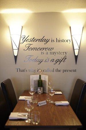 The George Hotel: Restaurant