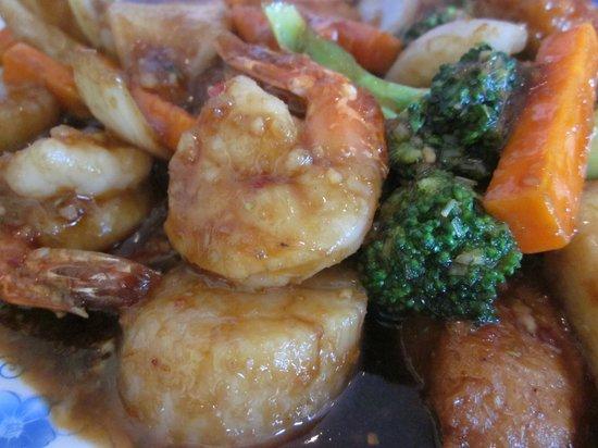 Binh Minh Restaurant:                   seafood chilli lemongrass